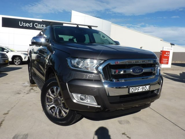 Pre-Owned Ford Ranger PX MkII XLT Double Cab Blacktown, 2017 Ford Ranger PX MkII XLT Double Cab Grey 6 Speed Sports Automatic Utility