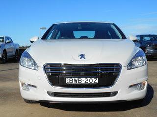 2011 Peugeot 508 Allure White 6 Speed Sports Automatic Sedan