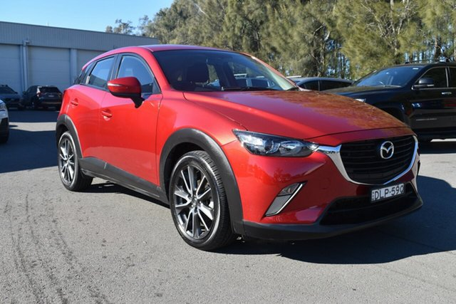 Used Mazda CX-3 DK2W7A Maxx SKYACTIV-Drive Gosford, 2016 Mazda CX-3 DK2W7A Maxx SKYACTIV-Drive Red 6 Speed Sports Automatic Wagon