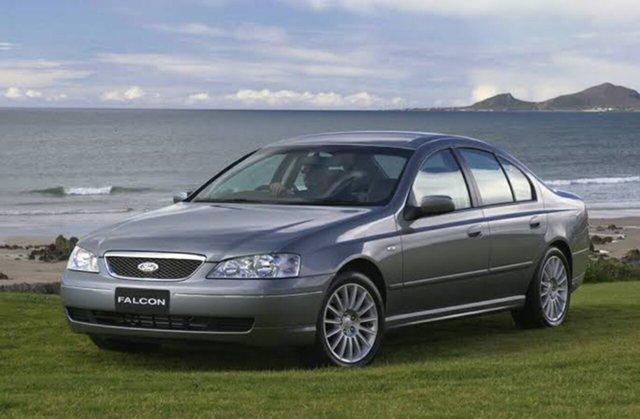 Used Ford Fairmont BA MkII Hampstead Gardens, 2005 Ford Fairmont BA MkII Grey 4 Speed Auto Seq Sportshift Sedan