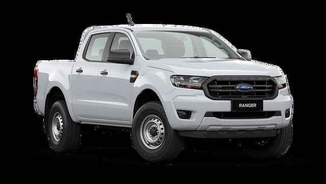Demo Ford Ranger PX MkIII 2021.25MY XL Rutherford, 2021 Ford Ranger PX MkIII 2021.25MY XL Arctic White 6 Speed Sports Automatic Double Cab Pick Up