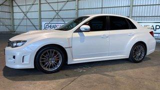 2013 Subaru WRX V1 MY15 AWD White 6 Speed Manual Sedan.