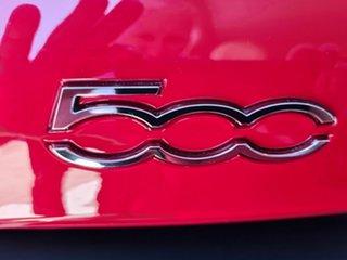 2013 Fiat 500 Series 1 POP Red 5 Speed Manual Hatchback