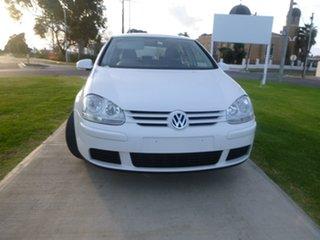 2008 Volkswagen Golf V Edition White Manual Hatchback.