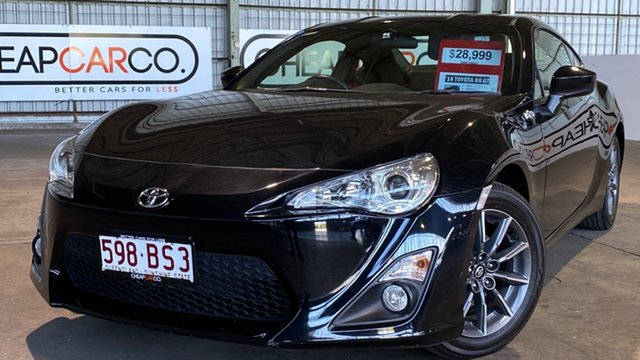Used Toyota 86 ZN6 GT Rocklea, 2016 Toyota 86 ZN6 GT Black 6 Speed Manual Coupe