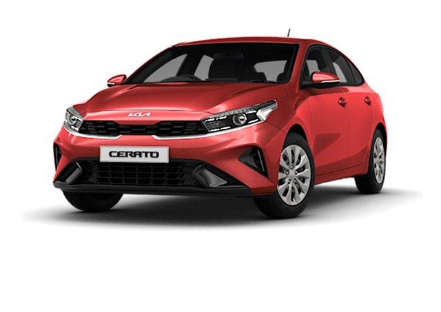 New Kia Cerato BD MY22 S Cardiff, 2021 Kia Cerato BD MY22 S Runway Red 6 Speed Sports Automatic Hatchback