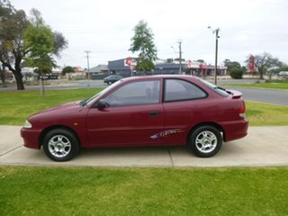 2000 Hyundai Excel X3 Sprint Twin Cam Burgundy Manual Hatchback
