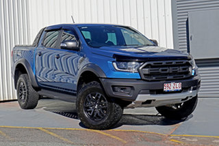 2019 Ford Ranger PX MkIII 2019.00MY Raptor Blue 10 Speed Sports Automatic Double Cab Pick Up.