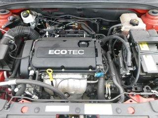 2009 Holden Cruze JG CDX Red 6 Speed Sports Automatic Sedan
