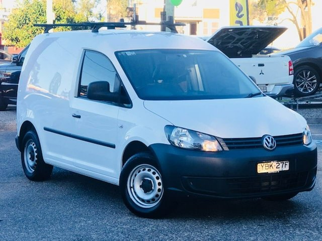 Used Volkswagen Caddy 2KN MY14 TSI160 SWB Runner Liverpool, 2014 Volkswagen Caddy 2KN MY14 TSI160 SWB Runner White 5 Speed Manual Van