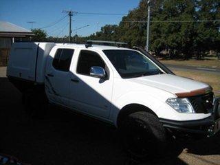 2012 Nissan Navara 550 White Automatic Dual Cab