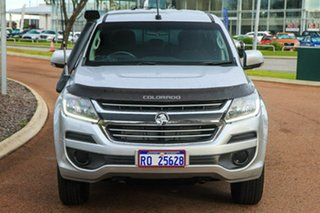 2017 Holden Colorado RG MY17 LS Pickup Crew Cab Silver 6 Speed Sports Automatic Utility
