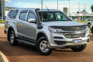 2017 Holden Colorado RG MY17 LS Pickup Crew Cab Silver 6 Speed Sports Automatic Utility.
