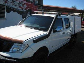 2012 Nissan Navara 550 White Automatic Dual Cab.