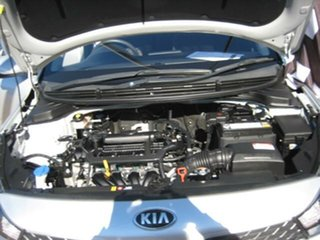 2017 Kia Rio Silver Automatic Hatchback.
