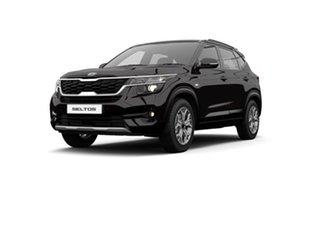 2021 Kia Seltos SP2 MY21 Sport+ 2WD Black Cherry 1 Speed Constant Variable Wagon