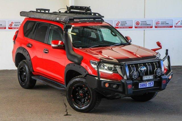 Pre-Owned Toyota Landcruiser Prado GDJ150R MY17 GXL (4x4) Rockingham, 2018 Toyota Landcruiser Prado GDJ150R MY17 GXL (4x4) Wildfire 6 Speed Automatic Wagon