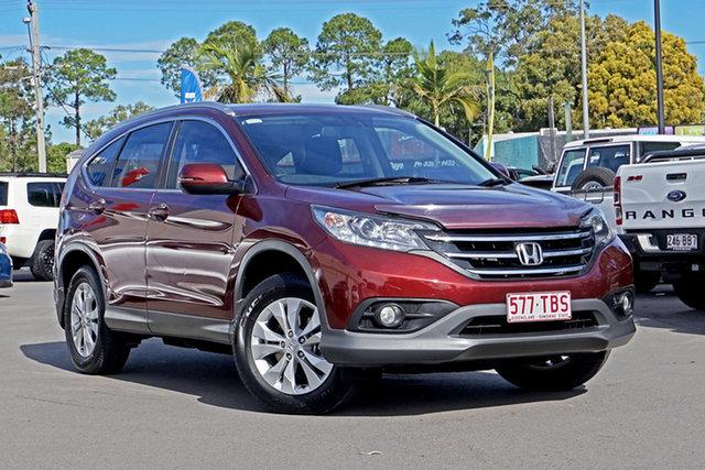 Used Honda CR-V RM MY14 VTi-S 4WD Chandler, 2013 Honda CR-V RM MY14 VTi-S 4WD Red 5 Speed Sports Automatic Wagon