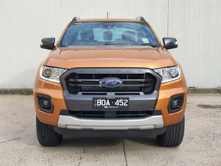 2021 Ford Ranger PX MkIII 2021.25MY Wildtrak Orange 10 Speed Sports Automatic Double Cab Pick Up