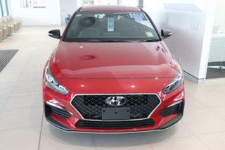 2021 Hyundai i30 PD.V4 MY21 N Line D-CT Fiery Red 7 Speed Sports Automatic Dual Clutch Hatchback.