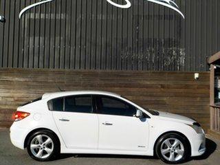 2011 Holden Cruze JH Series II MY12 SRi-V White 6 Speed Sports Automatic Hatchback.