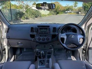 2013 Toyota Hilux KUN26R SR Silver 4 Speed Automatic Dual Cab