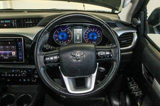 2017 Toyota Hilux GUN126R SR5 (4x4) Eclipse Black 6 Speed Automatic Dual Cab Utility