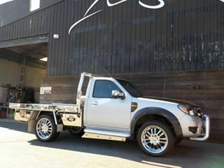 2011 Ford Ranger PK XL Hi-Rider Silver 5 Speed Manual Cab Chassis.