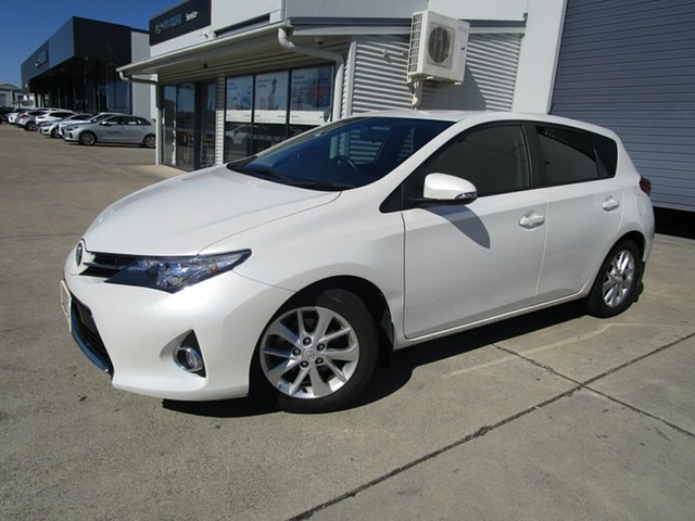 Used Toyota Corolla ZRE182R Ascent Sport S-CVT Caboolture, 2014 Toyota Corolla ZRE182R Ascent Sport S-CVT White 7 Speed Constant Variable Hatchback