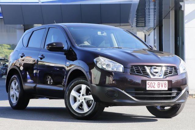 Used Nissan Dualis J10 Series II MY2010 ST Hatch X-tronic Mount Gravatt, 2011 Nissan Dualis J10 Series II MY2010 ST Hatch X-tronic Brown 6 Speed Constant Variable Hatchback