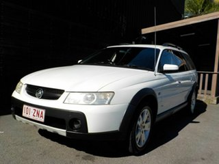 2006 Holden Adventra VZ MY06 CX6 White 5 Speed Automatic Wagon