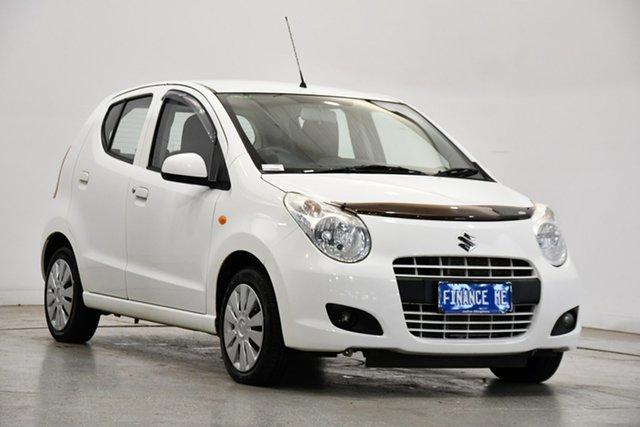 Used Suzuki Alto GF GL Victoria Park, 2012 Suzuki Alto GF GL White 4 Speed Automatic Hatchback