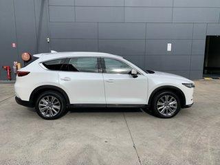 2021 Mazda CX-8 KG4W2A Asaki SKYACTIV-Drive i-ACTIV AWD Snowflake White 6 Speed Sports Automatic.