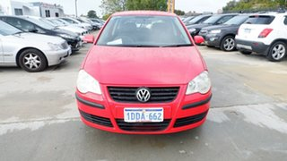 2009 Volkswagen Polo 9N MY2009 Edition Red 6 Speed Sports Automatic Hatchback.