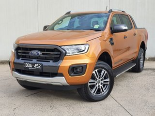 2021 Ford Ranger PX MkIII 2021.25MY Wildtrak Orange 10 Speed Sports Automatic Double Cab Pick Up.