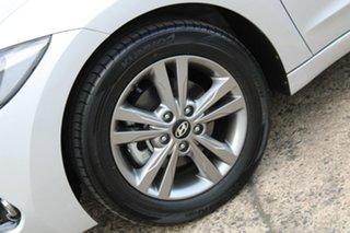 2018 Hyundai Elantra AD MY18 Active Silver 6 Speed Sports Automatic Sedan