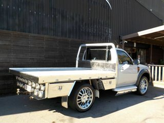 2011 Ford Ranger PK XL Hi-Rider Silver 5 Speed Manual Cab Chassis