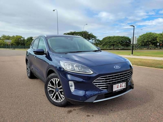 Used Ford Escape ZH 2020.75MY Townsville, 2020 Ford Escape ZH 2020.75MY Blazer Blue 8 Speed Sports Automatic SUV