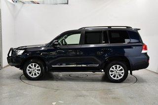 2017 Toyota Landcruiser VDJ200R VX Blue 6 Speed Sports Automatic Wagon.