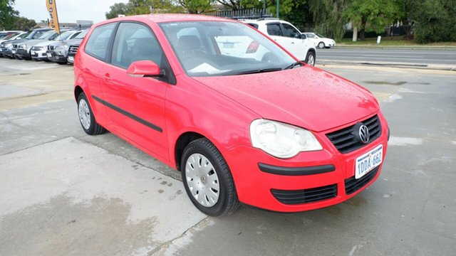 Used Volkswagen Polo 9N MY2009 Edition St James, 2009 Volkswagen Polo 9N MY2009 Edition Red 6 Speed Sports Automatic Hatchback