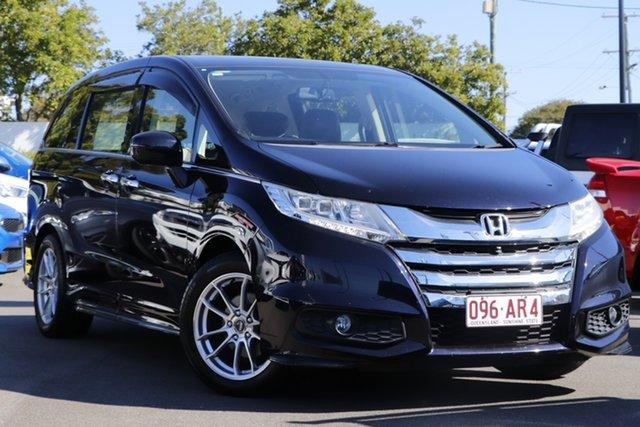 Used Honda Odyssey RC MY14 VTi-L Mount Gravatt, 2014 Honda Odyssey RC MY14 VTi-L Black 7 Speed Constant Variable Wagon
