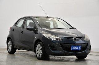 2011 Mazda 2 DE10Y1 MY11 Neo Grey 5 Speed Manual Hatchback.