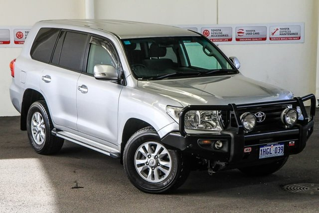 Pre-Owned Toyota Landcruiser VDJ200R MY13 GXL (4x4) Rockingham, 2014 Toyota Landcruiser VDJ200R MY13 GXL (4x4) Silver Pearl 6 Speed Automatic Wagon
