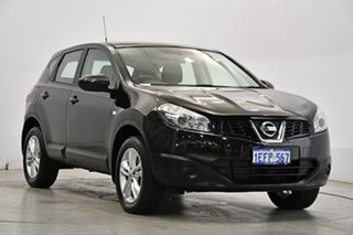 2013 Nissan Dualis J10W Series 4 MY13 ST Hatch X-tronic 2WD Cherry Red 6 Speed Constant Variable