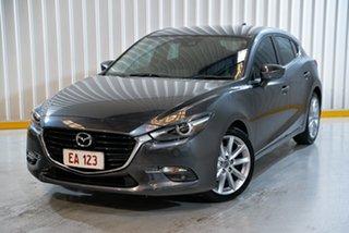 2017 Mazda 3 BN5438 SP25 SKYACTIV-Drive GT Grey 6 Speed Sports Automatic Hatchback.
