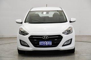 2015 Hyundai i30 GD Active Tourer White 6 Speed Sports Automatic Wagon.