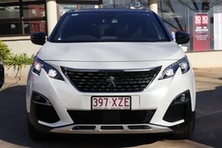 2018 Peugeot 5008 P87 MY18 GT Line Pearl White 6 Speed Automatic Wagon.