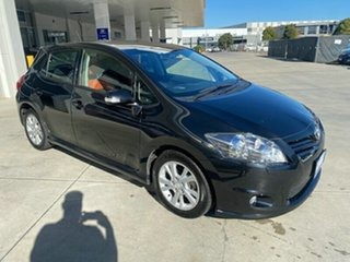 2012 Toyota Corolla ZRE152R MY11 Levin ZR Black 4 Speed Automatic Hatchback.