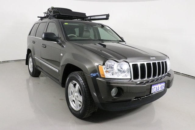 Used Jeep Grand Cherokee WH Limited (4x4) Bentley, 2005 Jeep Grand Cherokee WH Limited (4x4) Gold 5 Speed Automatic Wagon