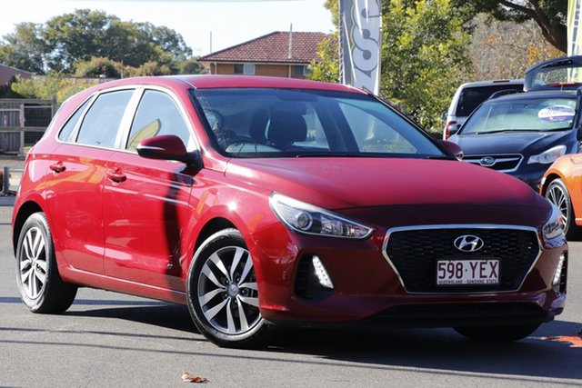 Used Hyundai i30 PD2 MY18 Active Toowoomba, 2018 Hyundai i30 PD2 MY18 Active Red 6 Speed Sports Automatic Hatchback